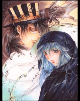 Black White and Blue :Remix: by Giname
