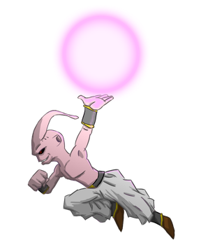 Villian Collab: Buu by Blader3000