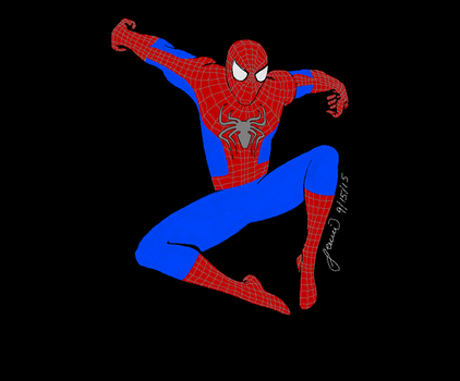 The Amazing: Spiderman by ThatOneCapArtist