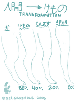 Digitigrade Transformation Tutorial/Reference by seagr33nowl
