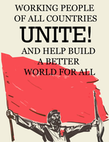 Workers World Poster by Party9999999