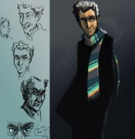 Twelfth Doctor studies by Alda-Rana