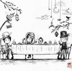 Quite A Mad Tea Party I'd Say by TeaCups4Muse