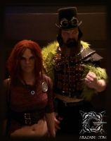 Defiance cosplay - Irisa and Sukar Dragoncon 2013 by mbielaczyc