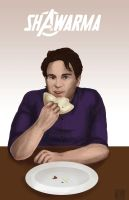 Bruce Banner- Shawarma by Tobiassilverstreak
