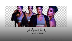 HALSEY - PNGS by Sheezus