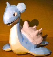 Lapras by jewzeepapercraft