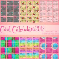 50 Cool Calendars 2012 Png by NyaAkemiChan