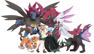 My best team Pokemon.