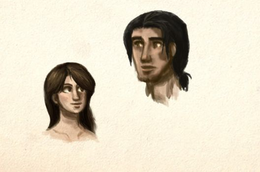 Quick sketch faces by Sequana