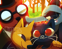 Night in the Woods by iFoopets