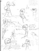 Regular Show - Benson sketches by Noted451