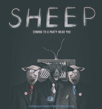 Sheep (Coming to a Party Near You) by MrRyanDee
