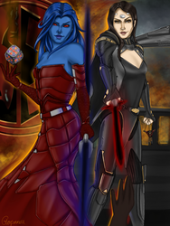 Odessen in Flames: Sith and Zakuul by Glorfinniell