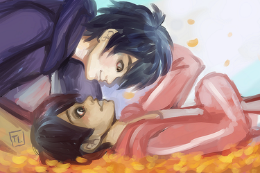 Hiro and Miguel - Coco x Big Hero 6 - by KiraiRei