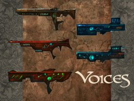 Voices: Rifles by Lumaris