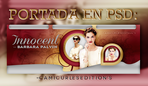 +PORTADA PSD: Innocent~~ by CAMI-CURLES-EDITIONS