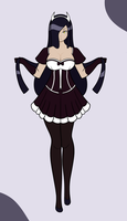 Midnight Rin: Maid by DB-Palette