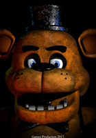 3Ds Max - Freddy Fazbear Poster by GamesProduction