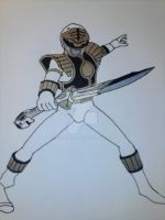 White Ranger by chaz1179