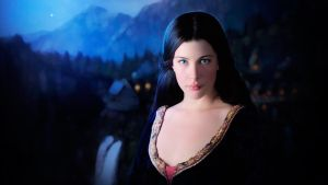 Photorealistic Arwen (Liv Tyler) LOTR by push-pulse