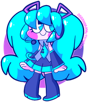 i would die for hatsune miku by paranormal-thingum