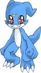 veemon by Riza23