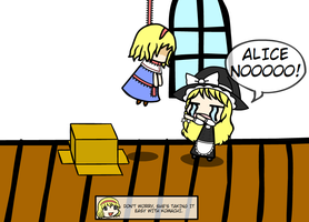 Hang in there, Alice-san! by LikeThisRLYMatters
