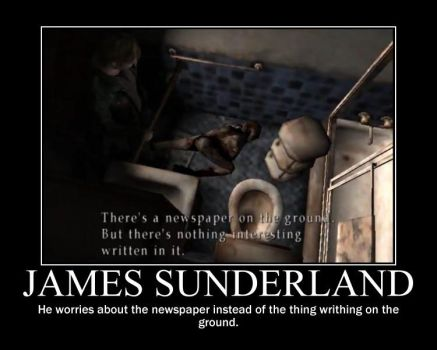 James Sunderland by weirdamazinglovable