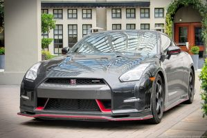 Red on Black Nismo GT-R by SeanTheCarSpotter