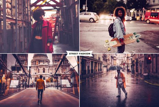 Street Fashion Actions 1 by ViktorGjokaj