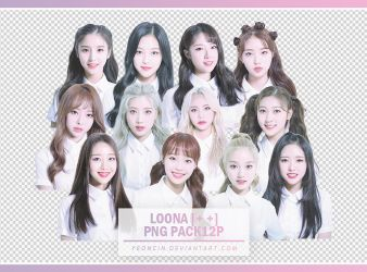 LOONA [++] PNG PACK 12P by YEONCIN by yeoncin