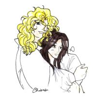 Lestat  and  Louis by Rucci