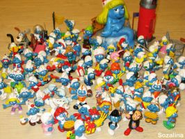 My Smurfs Collection by Sozalina