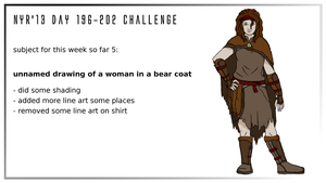 NYR'13 day 196-202 CHALLENGE - WIP5 by Deimonian