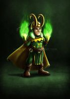 Little Oldschool Loki by ryodita