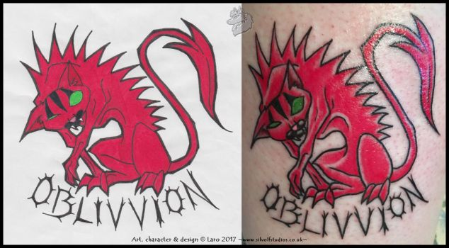 -Oblivvion Tattoo- by Silvolf