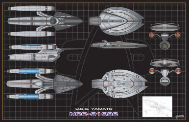 U.S.S.Yamato Multi Vector Mode by stourangeau