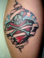 finished ak3 tattoo by seewuh