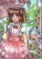 ACEO #32 Lolita by MTToto