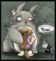 Where is my Totoro by Kinla