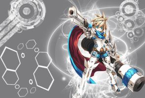 Elsword - |Shooting Guardian| Chung by Zavern