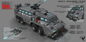 Rino Carrier by Cyber--Hawk