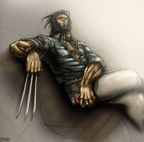 Wolverine colored for practice by SpicerColor