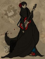 Hijabi Guitarist by finieramos