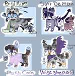 Cat Adopt Batch ( 4/4 Open ) by SapphireZone