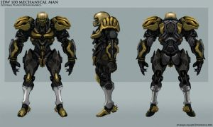 IDW 100 NFL Player Orthos by NuMioH