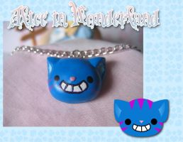 .:Cheshire Cat Necklace:. by PhantomCarnival