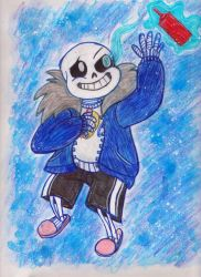 Sans by AngryMoonkin