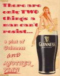 Guinness Pin Up by Grim-Clavera